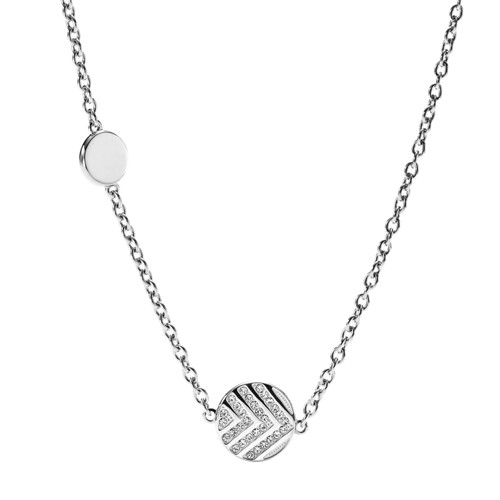 Fossil Chevron Glitz Necklace JF02674040