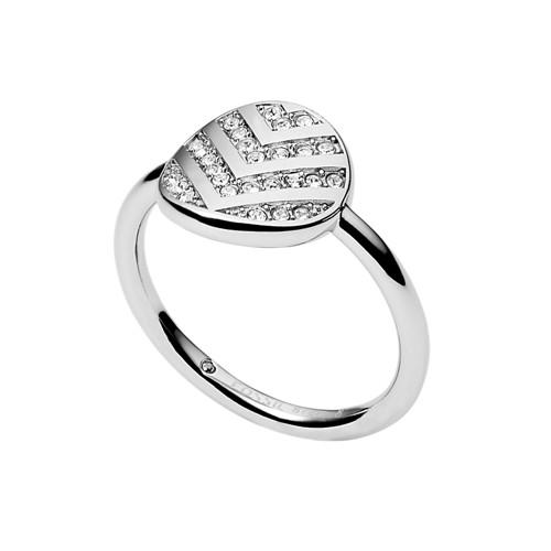 Fossil Chevron Glitz Ring JF026750408