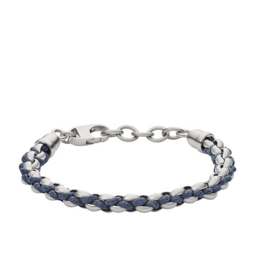 Fossil Classic Cotton Cord Bracelet Jf02679040