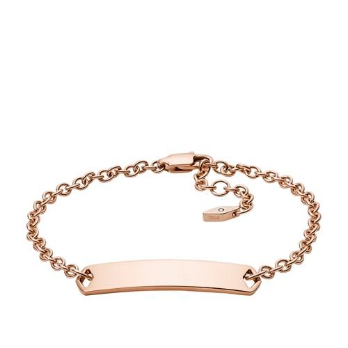 Fossil Engravable Plaque Bracelet JF02720791