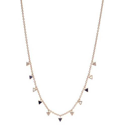 Fossil Triangle Necklace JF02766791