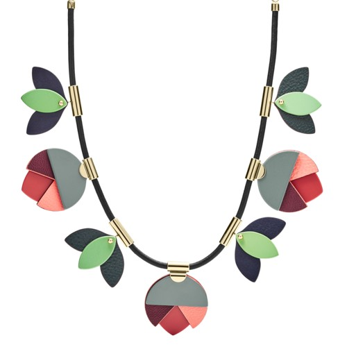 Fossil Floral Necklace JF02767710