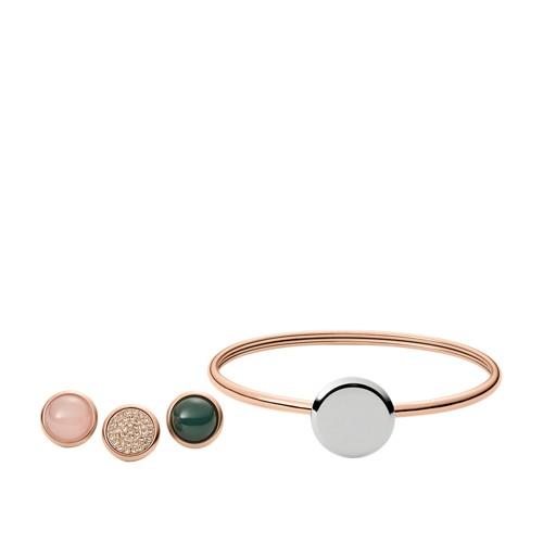 Fossil Interchangeable Flex Bracelet Gift Set JF02768998