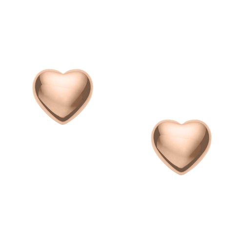 Fossil Heart Studs Jf02803791