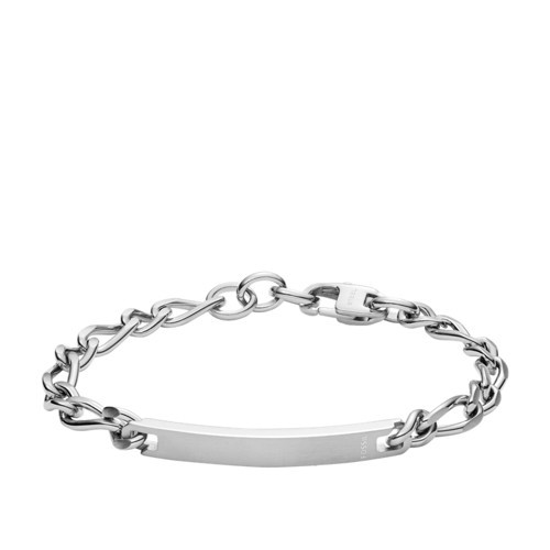 Engravable Plaque Steel Bracelet JF02875040