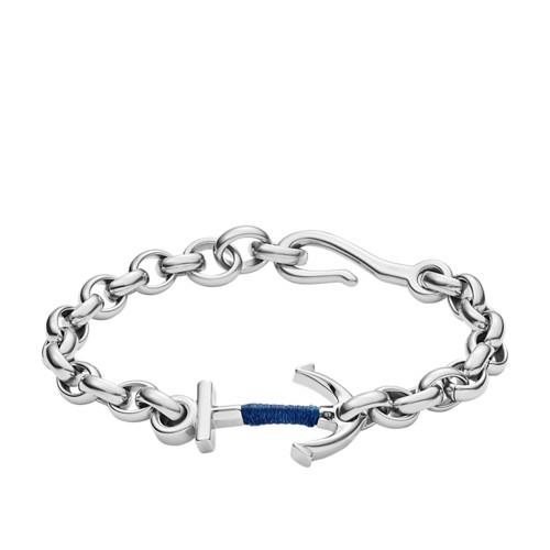 Fossil Anchor Steel Bracelet JF02879040