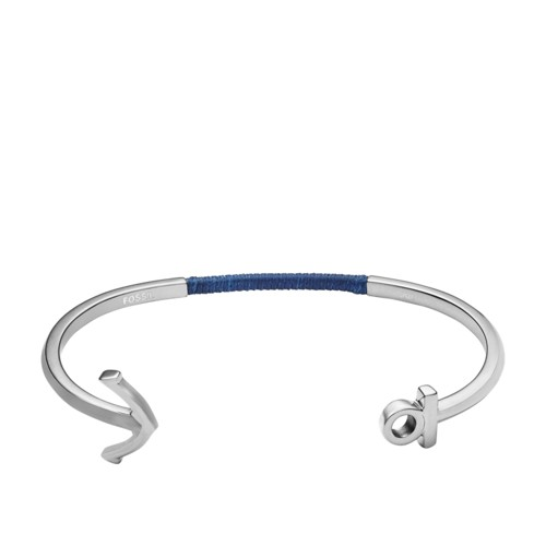 Fossil Anchor Steel Open Cuff JF02880040