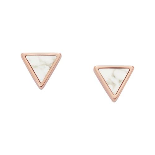 Triangle Howlite Semi-Precious Studs JF02895791