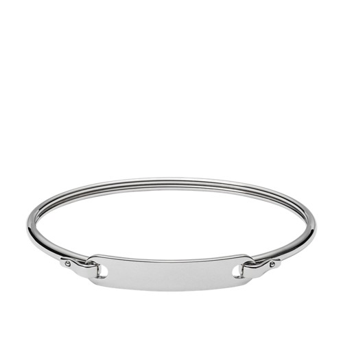 Engravable Plaque Steel Bracelet JF02966040