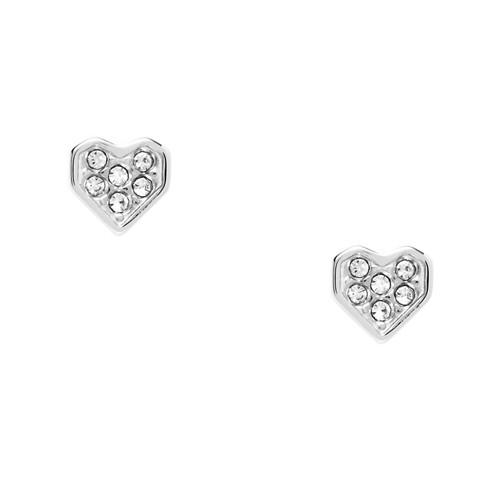 Fossil Glitz Heart Studs JF02988040