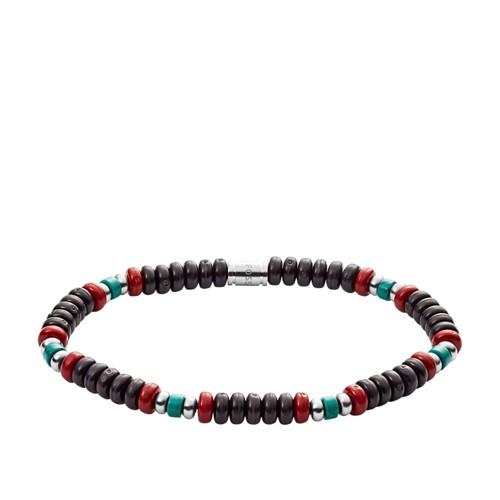 fossil Turquoise Beaded Bracelet JF03004040