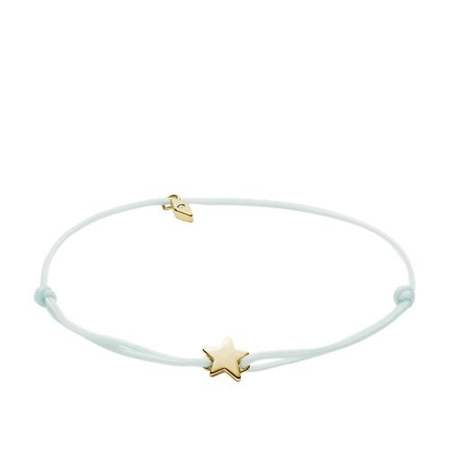 fossil Star Blue Nylon Bracelet JF03053710