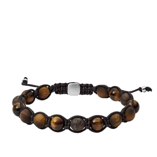 Tiger's Eye and Bronzite Bracelet JF03110040