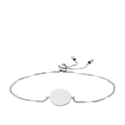 Fossil Disc Stainless Steel Bracelet  jewelry JF03168040