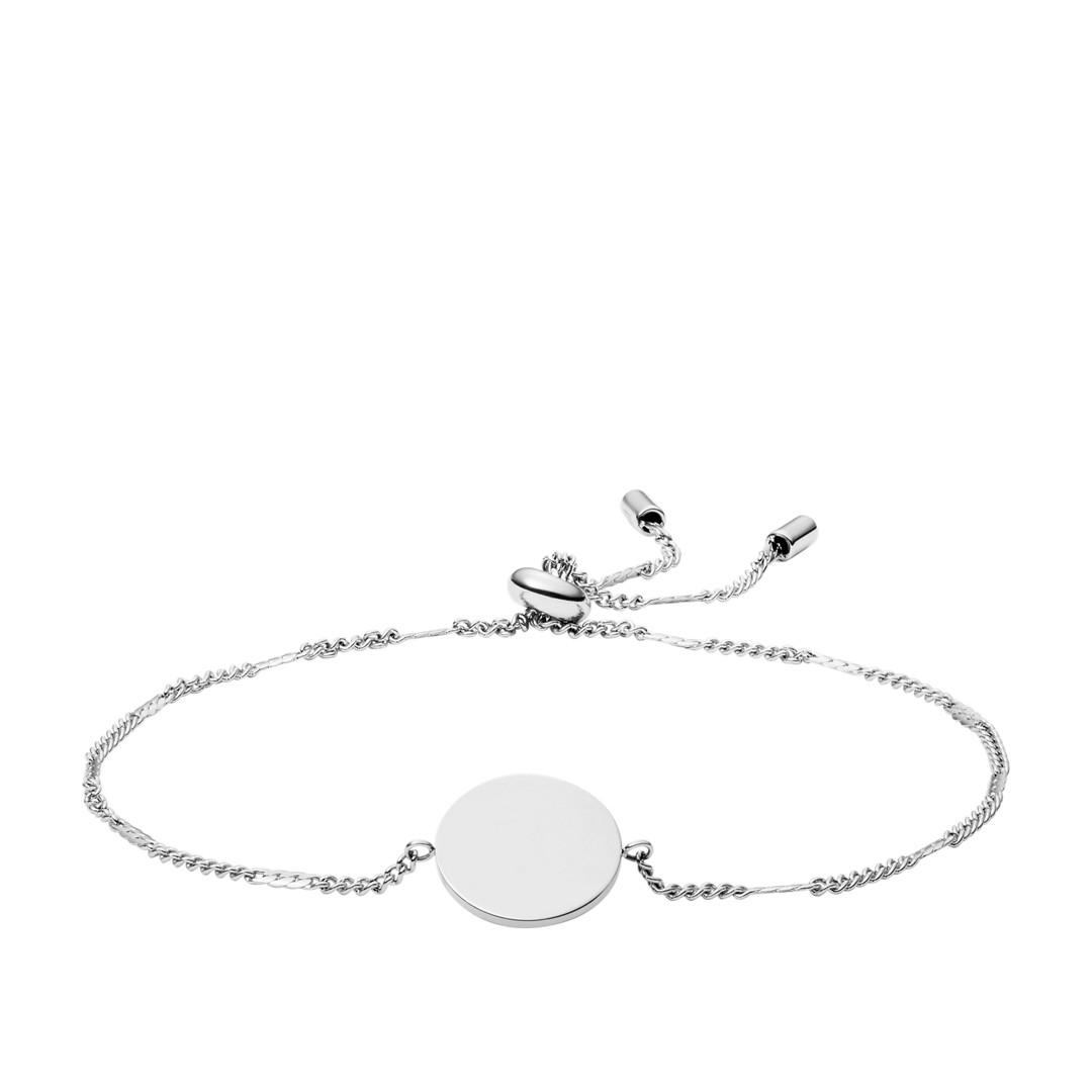Fossil Disc Stainless Steel Bracelet Jf03168040 jewelry - JF03168040-WSI