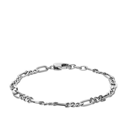 Fossil Figaro Stainless Steel Bracelet  jewelry JF03174040