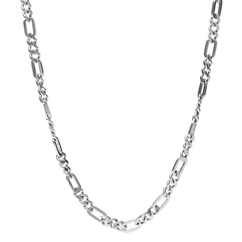 Figaro Stainless Steel Necklace JF03175040
