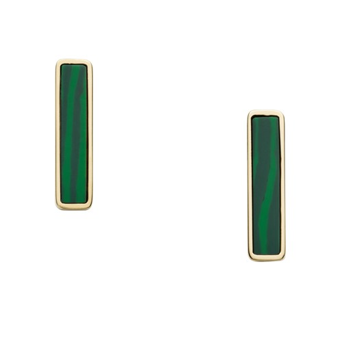 Bar Gold-Tone Stainless Steel Studs JF03211710