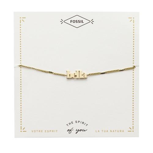 Gold-Tone Steel Bella Bracelet JF03227710