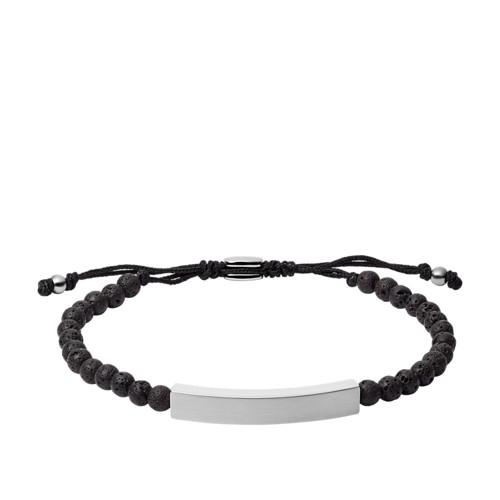 fossil Plaque Lava Stone Bracelet JF03247040