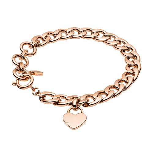 Rose Gold-Tone Steel Bracelet JF03277791