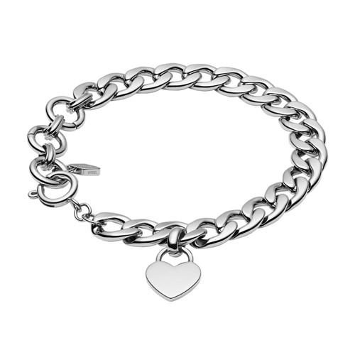 Silver-Tone Steel Bracelet JF03279040