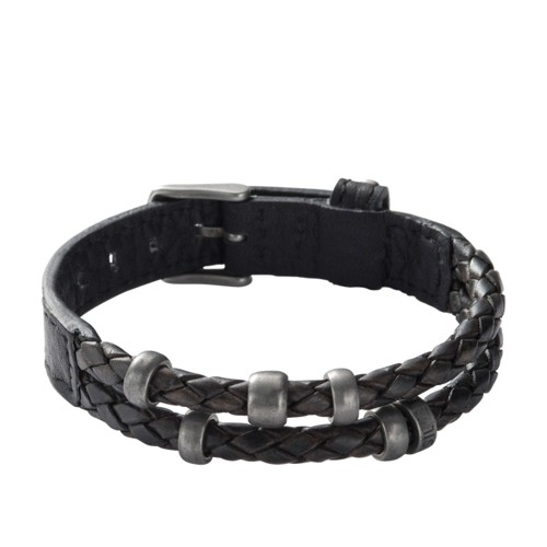 leather bracelet fossil