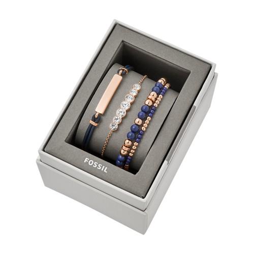 Fossil Navy Steel Bracelet Gift Set  jewelry JGFTSET1044