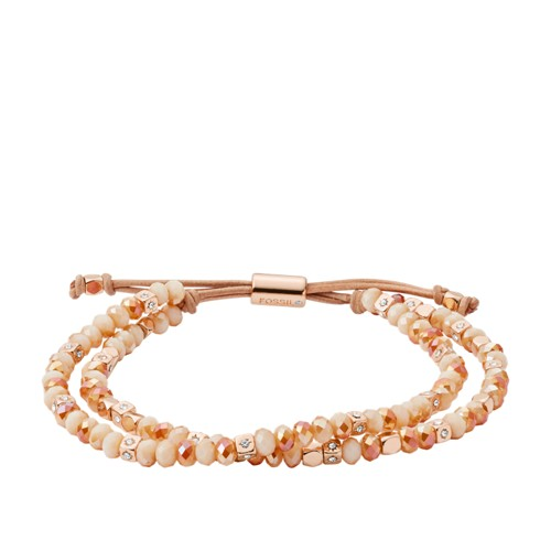 Rose-Gold Tone Beaded Bracelet JOA00545791