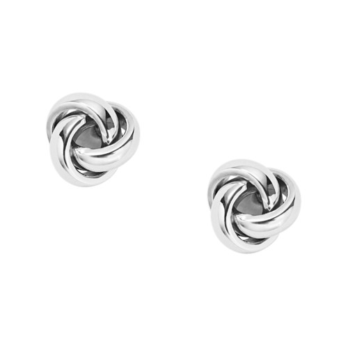 fossil Twisted Knot Stainless Steel Studs JOF00126040