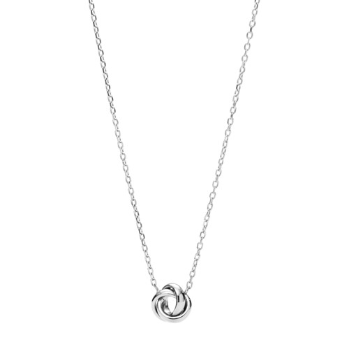 fossil Flex Knot Stainless Steel Necklace JOF00133040