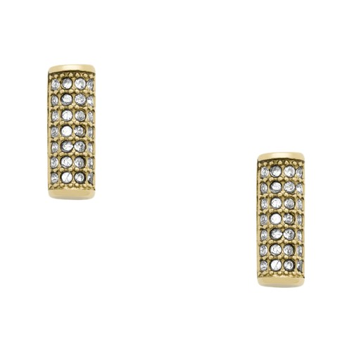 fossil Bar Gold-Tone Stainless Steel Studs JOF00408710