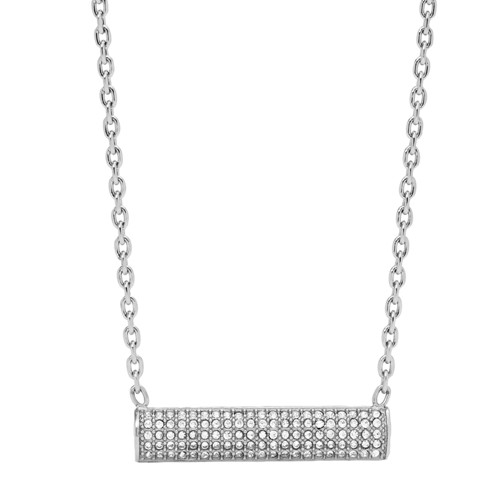 fossil Bar Stainless Steel Necklace JOF00426040