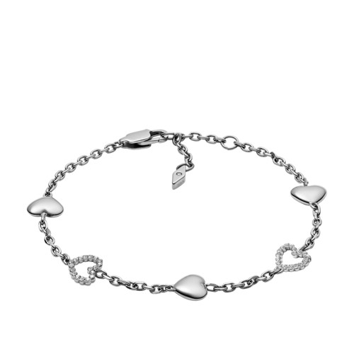 Open Heart Stainless Steel Bracelet JOF00458040