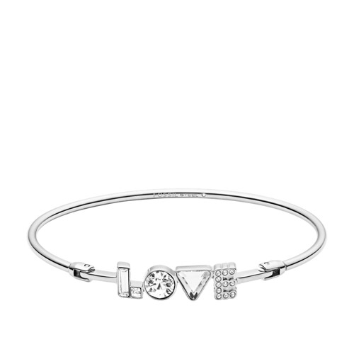 fossil Love Stainless Steel Bangle JOF00460040