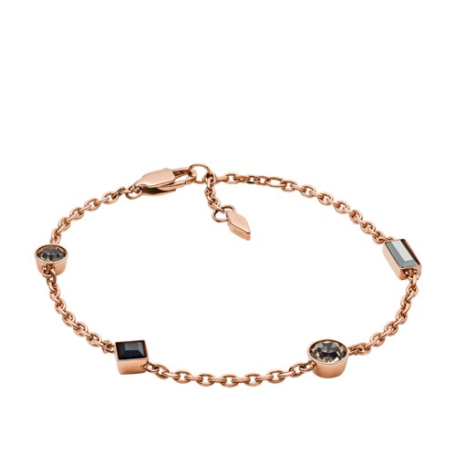 fossil Heritage Shapes Rose Gold-Tone Stainless Steel Bracelet JOF00480791