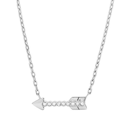 fossil Arrow Stainless Steel Necklace JOF00489040