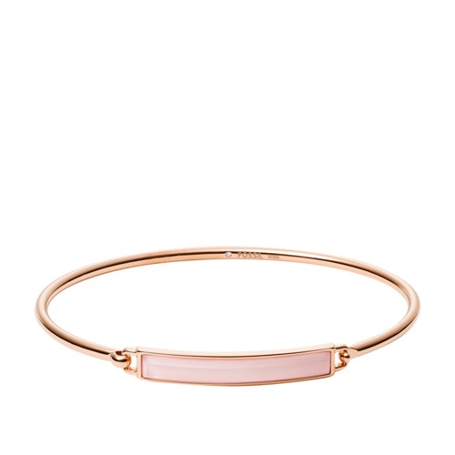 Rose Gold-Tone Stainless Steel Bangle Bracelet JOF00549791