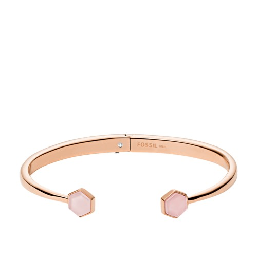 Rose Gold-Tone Stainless Steel Cuff Bracelet JOF00552791