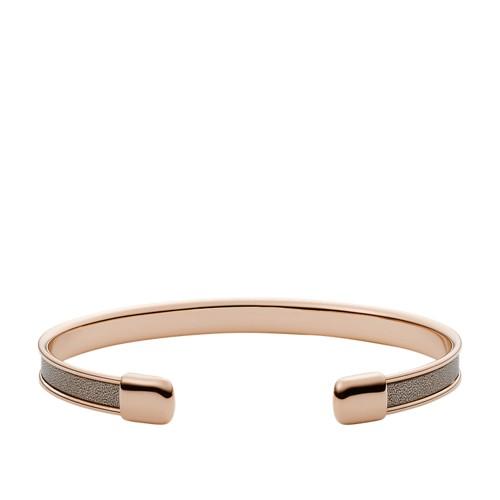Gray Stainless Steel Bracelet JOF00589791