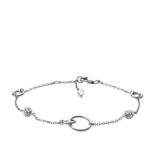 Silver-Tone Stainless Steel Bracelet JOF00594040