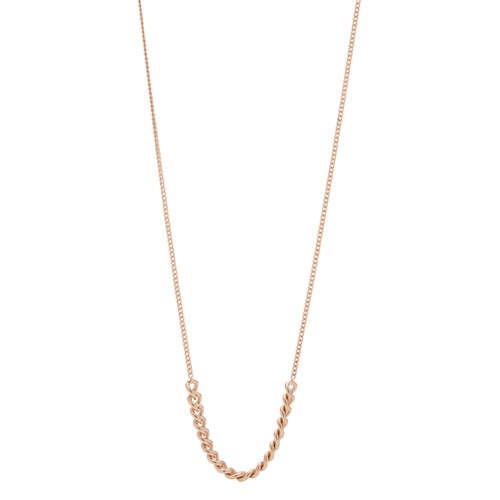 Rose Gold-Tone Stainless Steel Necklace JOF00598791