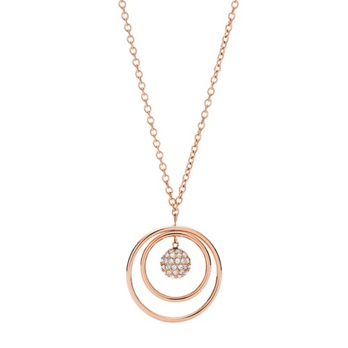 Rose Gold-Tone Stainless Steel Necklace JOF00599791