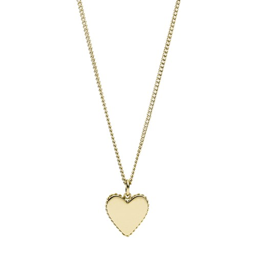 Gold-Tone Stainless Steel Pendant Necklace JOF00618710