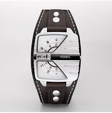 Fossil JR1006 Analogue Silver Dial