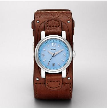 Fossil JR1011 Analog Blue Dial