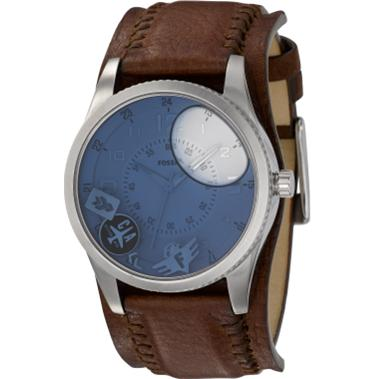 Fossil JR1026 Analog Blue Water Dial