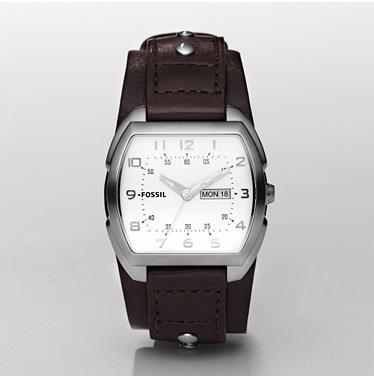 Fossil JR1068 Analog Silver Dial