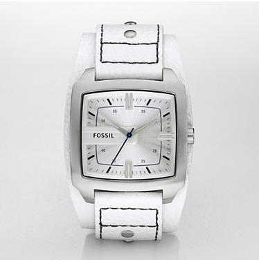Fossil JR1122, Analog White Dial