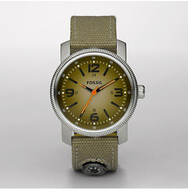 Fossil JR1124, Analogue Green Dial